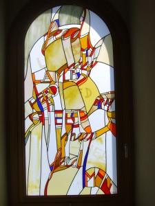 window in chapel