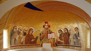 Irish College chapel apse 560 x 320