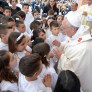 Pope Francis with children