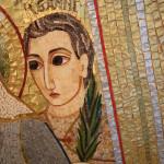 Fr Ragheed Ganni mosaic