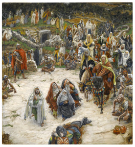 Crucifixion, seen from the Cross (1890) by James Tissot