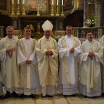 Irish College Deacons photo